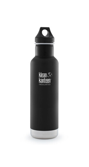 Klean Kanteen Classic Insulated Trinkflasche mit Loop Cap 592ml shale black